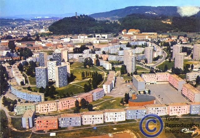 Centre Ville Forbach Annees